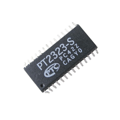 PT2323 SMD NF audio přepínač 6 kanálů