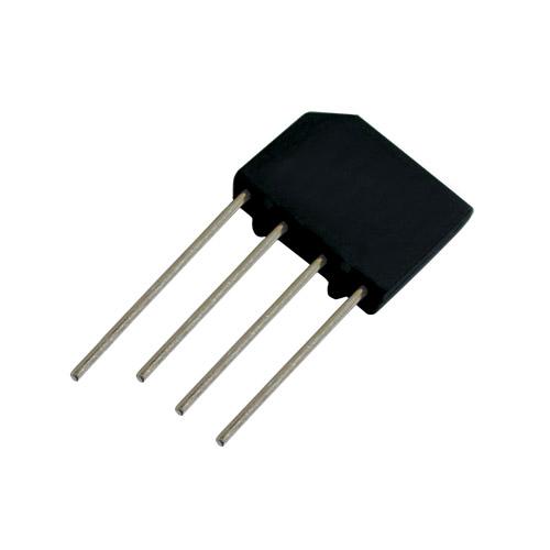 Můstek diod. 2A/ 600V KBP06/KBL06 plochý