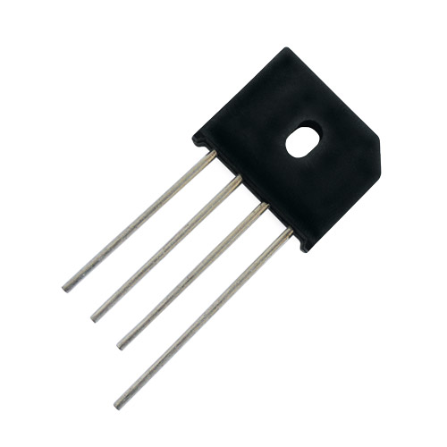 Můstek diod. 8A/ 400V KBU8G plochý
