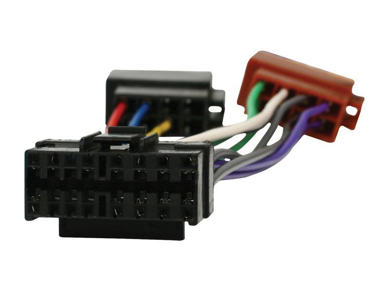 ISO kábel pre autorádio JVC 16pin HQ ISO-JVC16P