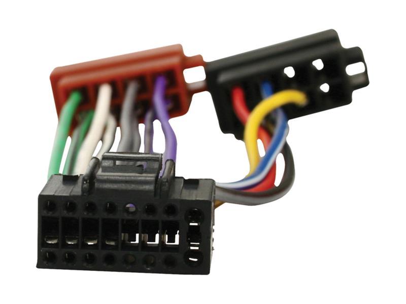 ISO kábel pre autorádio Kenwood 16pin HQ ISO-KENWOOD16P