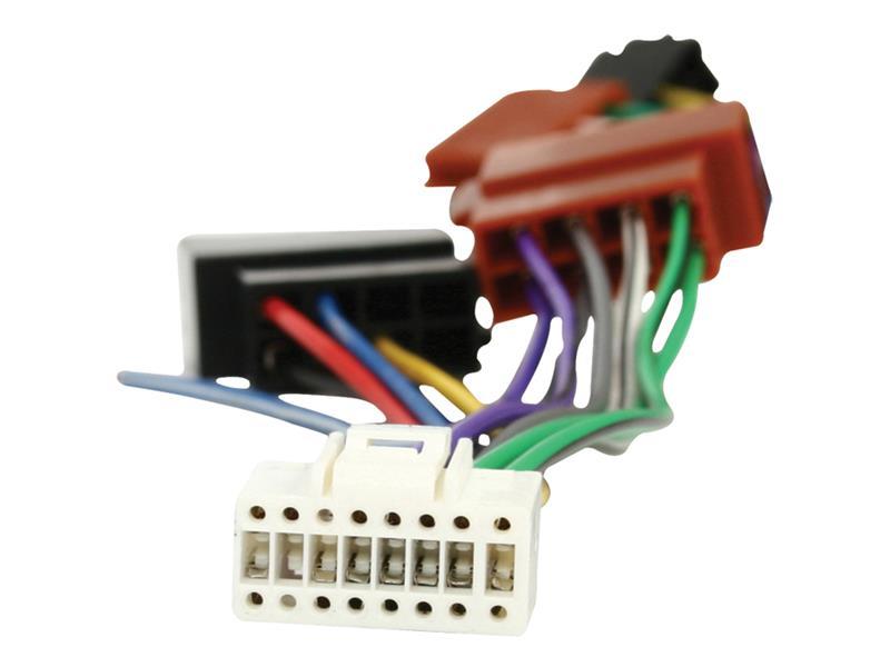 ISO kábel pre autorádio Alpine 16pin HQ ISO-ALPINE16P