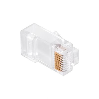 Konektor počítačový kabel 8p-8c RJ45 (CAT) přímý CAT.6E