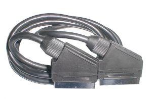 Kábel TIPA SCART/SCART 21PIN 5m