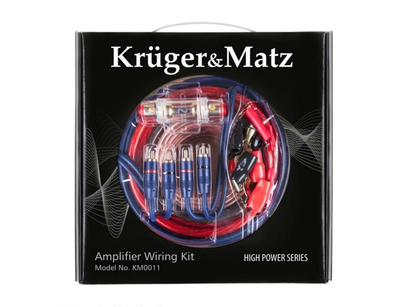 Sada montážna KRUGER & MATZ KM0011 pre zosilňovače
