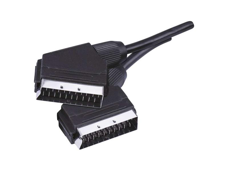 Kábel EMOS SCART/SCART 21PIN 1 m