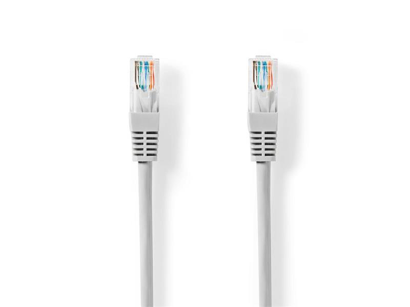 Kábel UTP 1x RJ45 - 1x RJ45 Cat5e 20m GREY NEDIS CCGT85100GY200