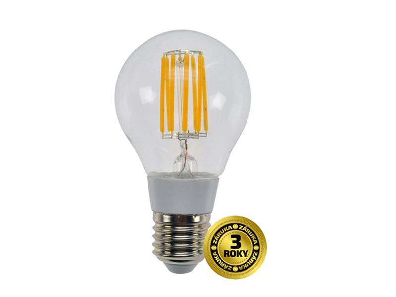 Žiarovka Filament LED E27 8W A60 teplá biela SOLIGHT WZ501A
