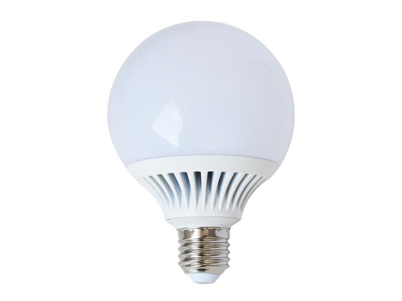 Žiarovka LED E27 12W G95 biela prírodná TIPA