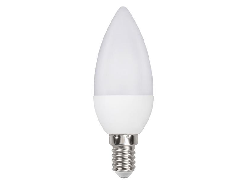 Žiarovka LED E14 6W C35 biela studená RETLUX RLL 261