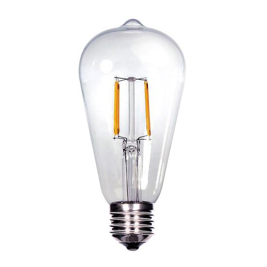 Žiarovka Filament LED E27 8W ST65 biela teplá SOLIGHT WZ526