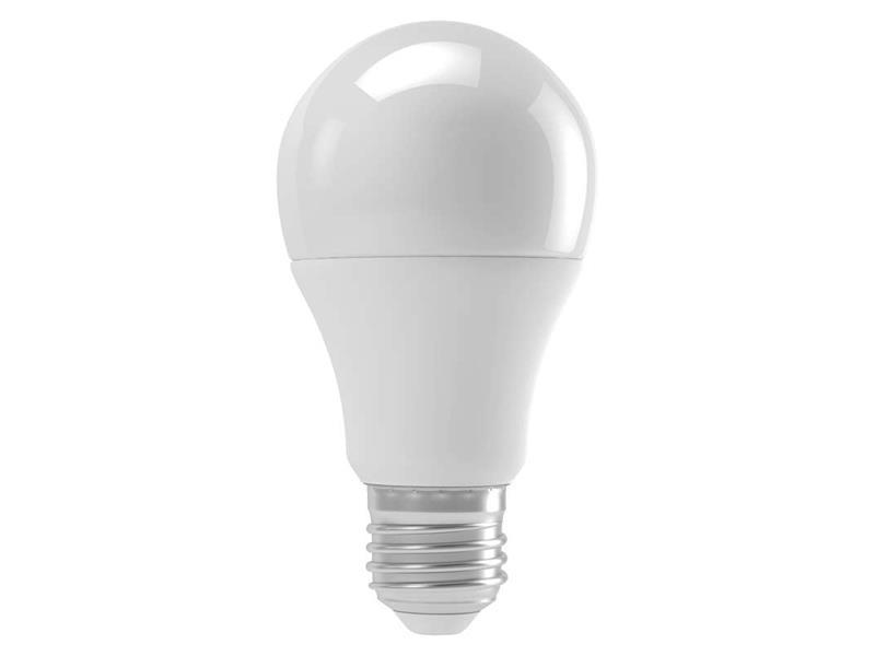 Žiarovka LED E27 9W A60 biela teplá EMOS ZQ5140M(senzor intenzity + mikrovlnný)