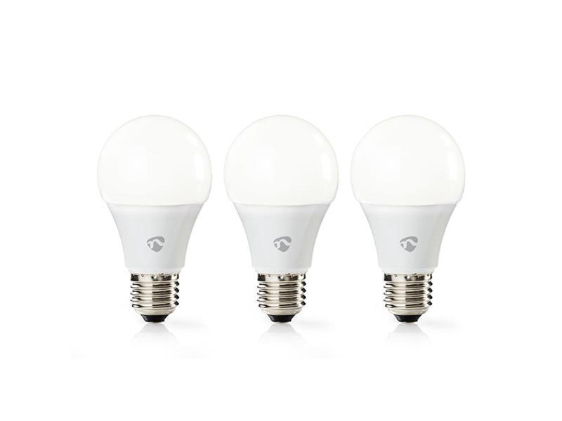 Múdra WiFi žiarovka LED E27 9W biela teplá NEDIS WIFILW31WTE27 SMARTLIFE