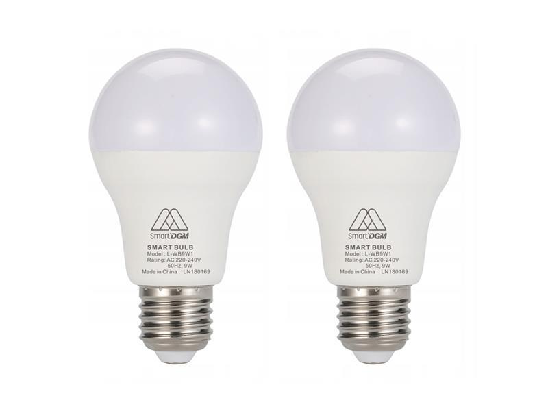 Múdra WiFi žiarovka LED E27 9W SmartDGM 1+1 zdarma