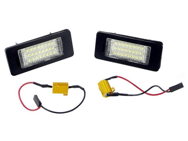 LED osvetlenie ŠPZ AUDI / ŠKODA / VW