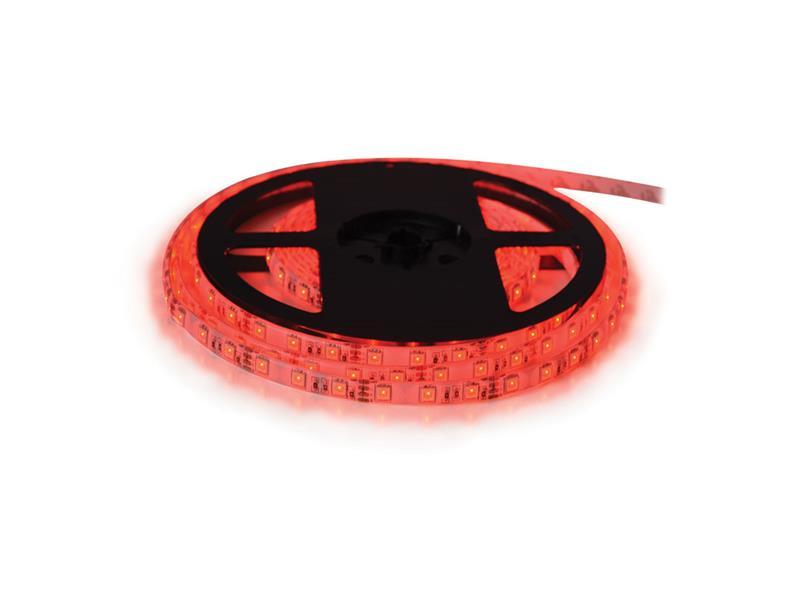 LED pásik 12V 3528 60LED/m IP68 max. 4.8W/m červená (cievka 5m) vodeodolný