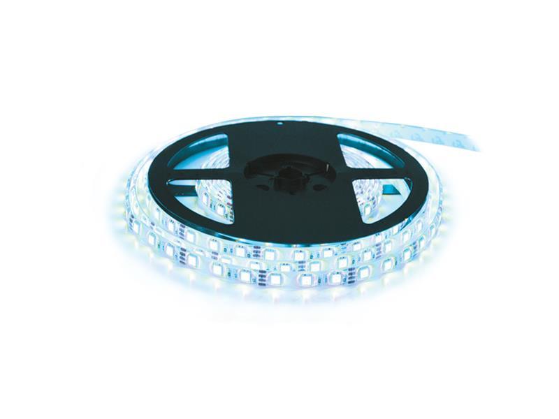 LED pásik 12V 3528 60LED/m IP65 max. 4.8W/m ice blue (cievka 10m)