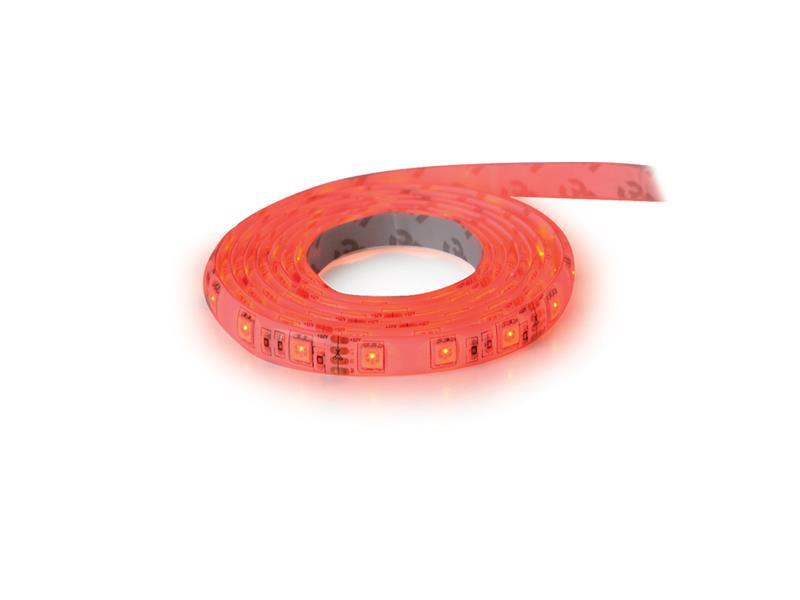 LED pásik 12V 3528 60LED/m IP20 max. 4.8W/m červená (cievka 1m)