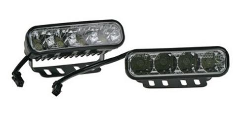 Světla pro denní svícení LED SJ-287E TYP2,homologace