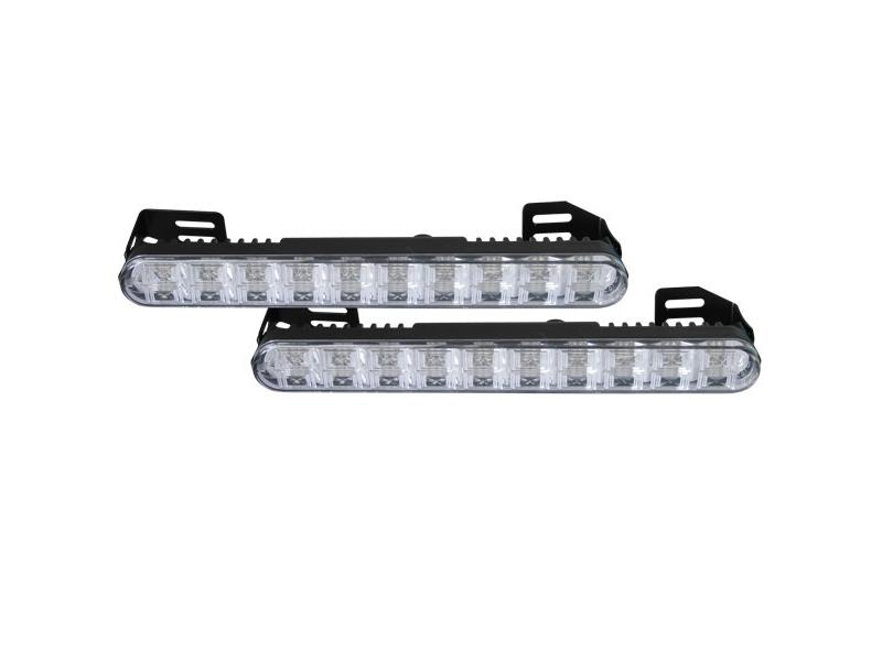 Světla pro denní svícení LED DRL020, homologace