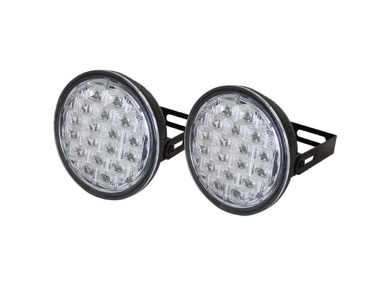 Světla pro denní svícení LED DRL019, homologace