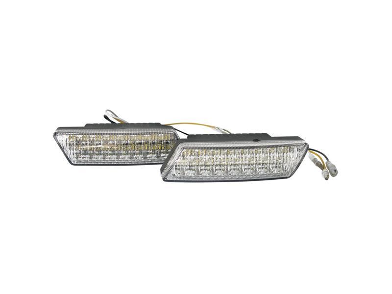 Světla pro denní svícení LED DRL016 kosoúhlá, homologace