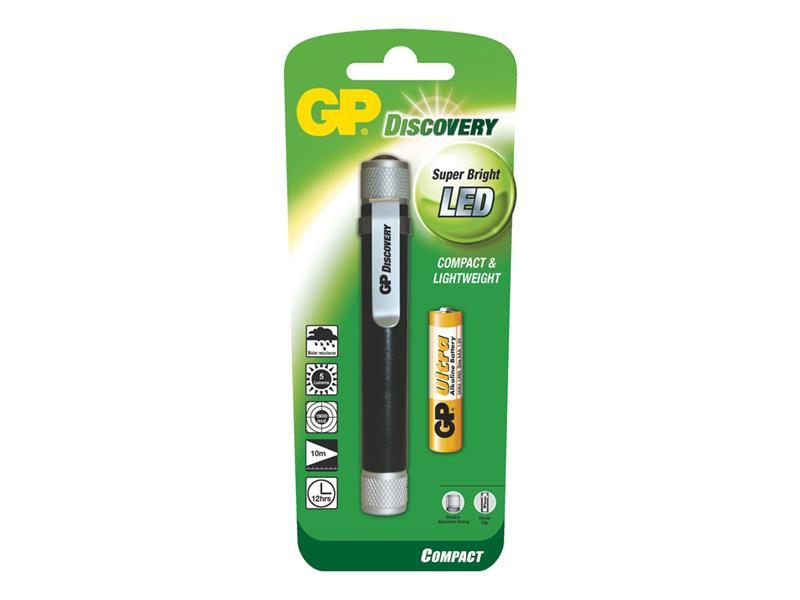 LED svítilna GP LCE205 + 1 x AAA baterie GP Ultra
