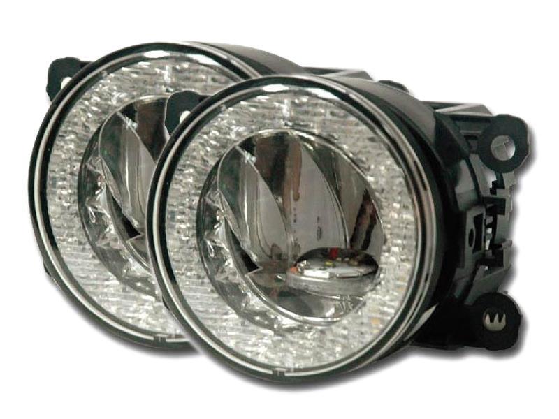 Světla pro denní svícení/mlhovky LED DRLFOG90FW, homologace