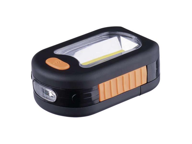 LED svietidlo 3+AAA COB + 3LED