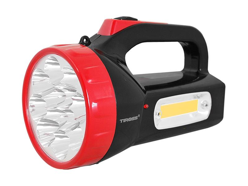 Svietidlo montážne TIROSS TS-1870, 12 LED, 1500 mAh, nabíjací