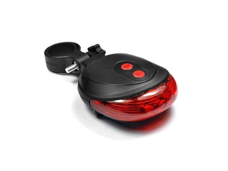 Svítilna na kolo zadní s laserem