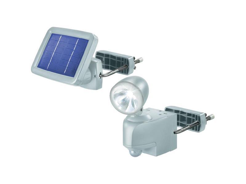 PIR solárny žiarič