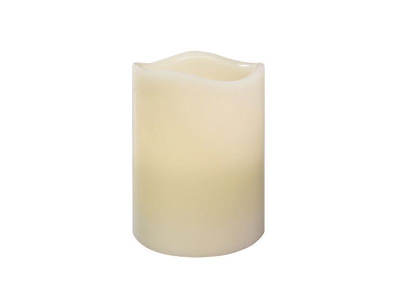 Svítidlo LED svíčka vosková s vůní vanilky