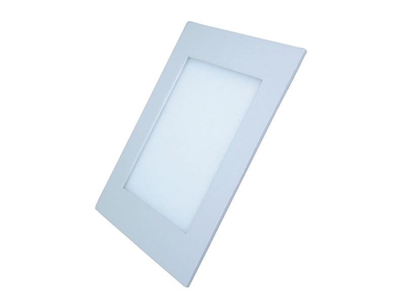 LED mini panel podhledový 18W, 1530lm, 4000K, tenký, čtvercový, bílé WD112 SOLIGHT