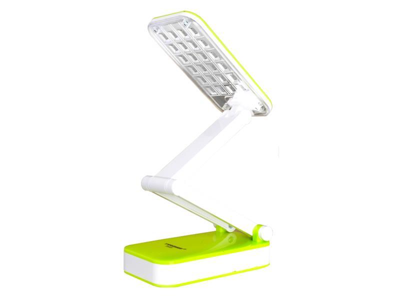 Lampa LED stolná TIROSS TS-55, 24 LED, 800 mAh GREEN
