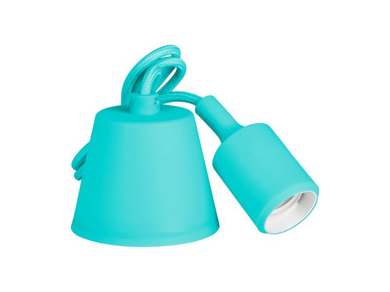 Svietidlo lampička závesná - prívodný kábel LED Retlux RFC 010 kábel modrý E27 230V