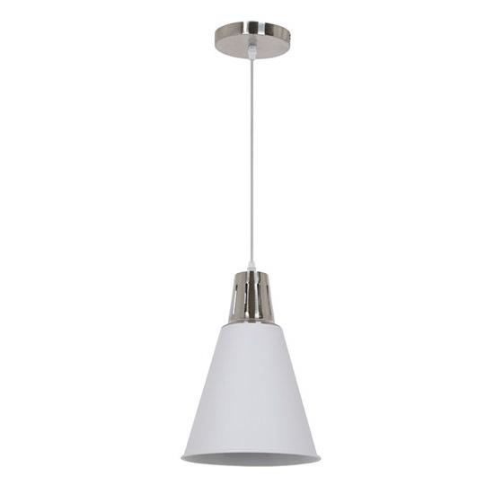 Svítidlo lustr Palermo, 22 cm, E27, bílá