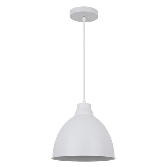 Svítidlo lustr Trento, 26 cm, E27, bílá