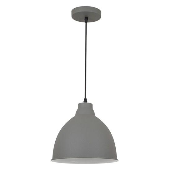 Svítidlo lustr Trento, 26 cm, E27, šedá