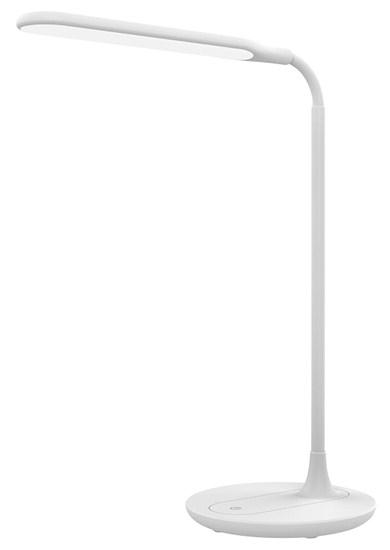 Svietidlo stolná LED lampička stmievateľná, 6W, 4500K, biela WO49-W