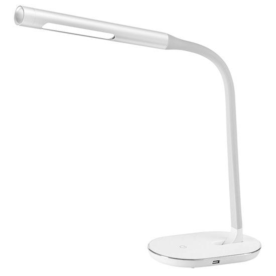 Svietidlo stolné LED lampička stmievateľná, 8W, 4500K, biela WO50-W