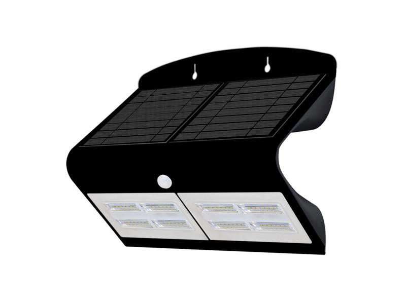 Svietidlo solárne LED IMMAX 08430L s čidlom 6.8W vonkajšie