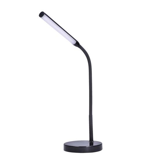 Svietidlo stolná LED lampička, 4W, stmievateľná, 4500K, čierna farba WO52-B