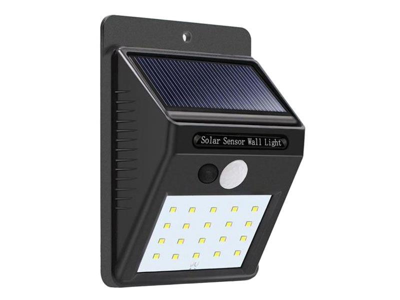 Svietidlo solárne LED nástenné s PIR