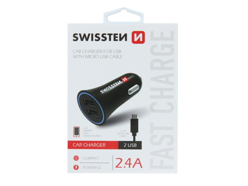 Autoadaptér USB SWISSTEN 20110900