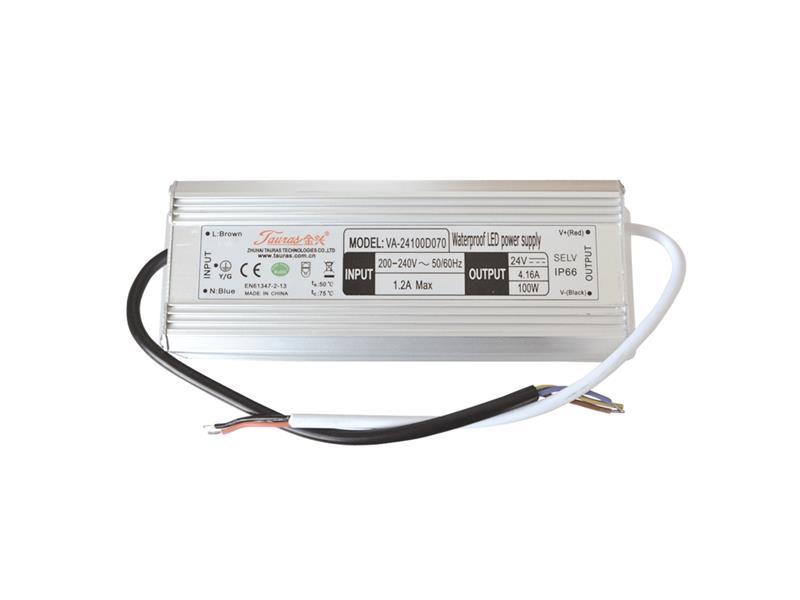 Zdroj pre LED pásiky IP66, 24V/100W/4,17A