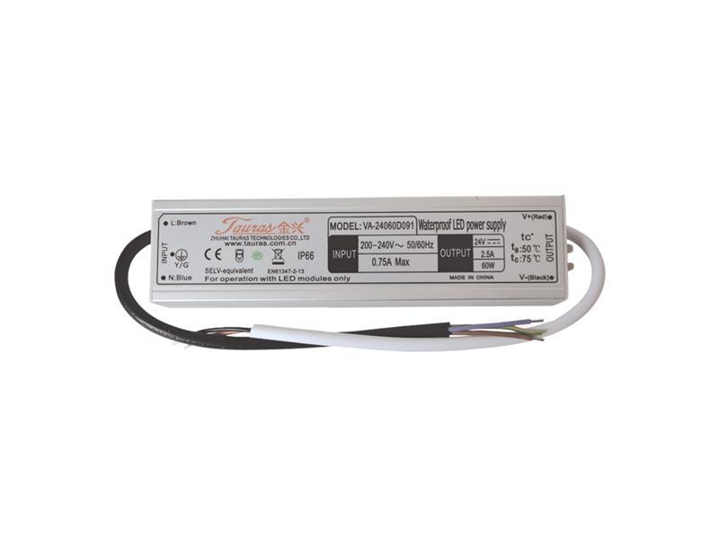 Zdroj pre LED pásiky IP66, 24V/ 60W/2,5A