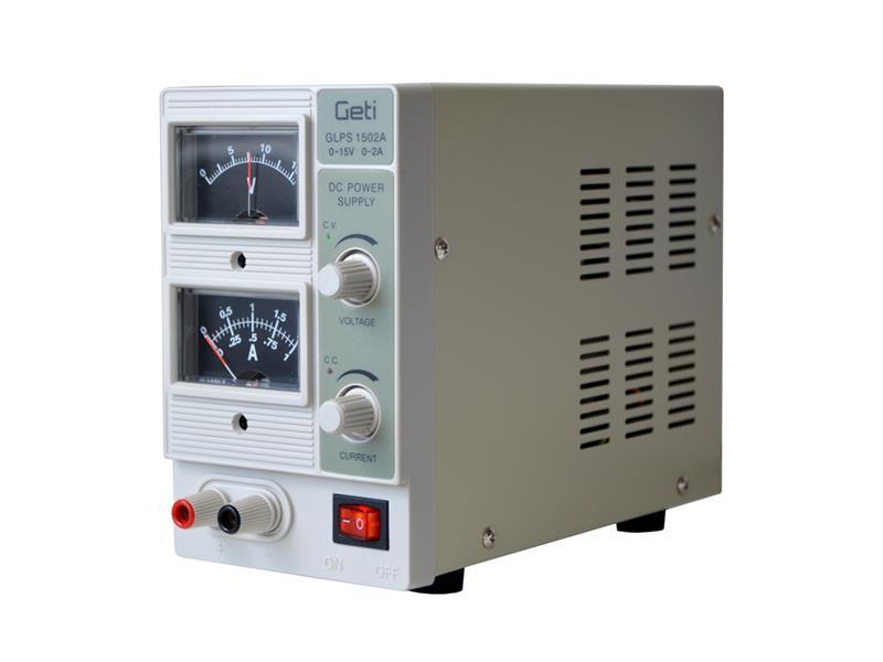 Zdroj laboratórny Geti QJ1502A 0-15V/ 0-2A