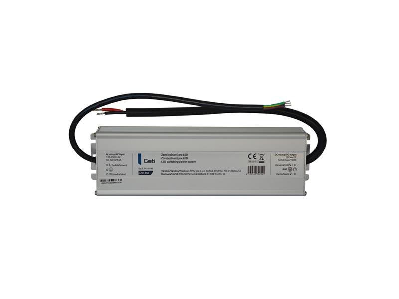 Zdroj spínaný pre LED 12V/150W Geti LPV-150