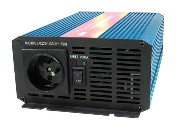 Menič napätia CARSPA P 600 24V/230V 600W čistá sínusoida
